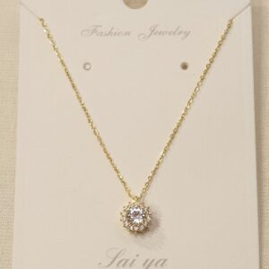Thin Chain with Pendant