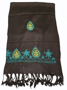 Stole with Embroidered border
