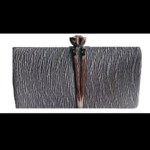 Hand Clutches -Silver Color